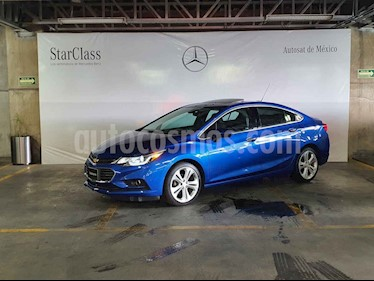 Chevrolet Cruze Premier Aut usado (2018) color Azul precio $309,000