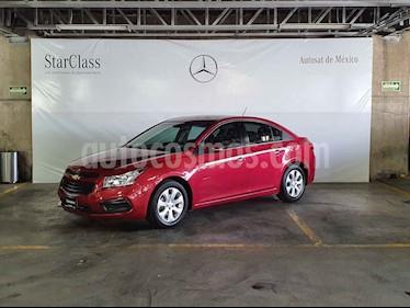 Chevrolet Cruze 4p LS L4/1.8/T Man usado (2016) color Rojo precio $149,000