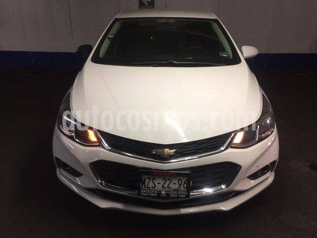 Chevrolet Cruze LT Piel Aut usado (2016) color Blanco precio $185,500