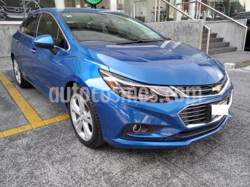 Foto Chevrolet Cruze Premier Aut usado (2017) color Azul precio $229,000