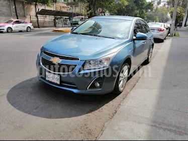 Chevrolet Cruze 4p LT L4/1.8 Aut usado (2014) color Azul precio $149,000