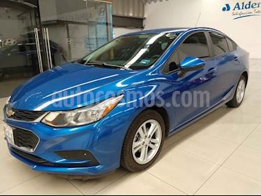 Chevrolet Cruze 4p LS L4/1.4/T Man usado (2017) color Azul precio $202,000
