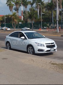 Chevrolet Cruze LT  usado (2016) color Blanco precio $160,000