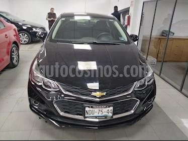 Chevrolet Cruze 4P LT L4/1.4/T AUT usado (2017) color Negro precio $260,000