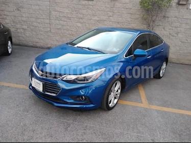 Chevrolet Cruze 4P LT PREMIER TA BOSE BL PIEL F.LED RA-18 usado (2017) color Azul precio $245,000