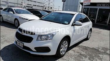 Chevrolet Cruze 4p LS L4/1.8 Aut usado (2015) color Blanco precio $149,000