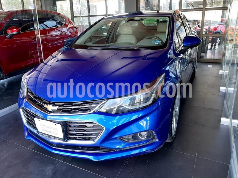 Chevrolet Cruze Premier Aut usado (2017) color Azul precio $209,000