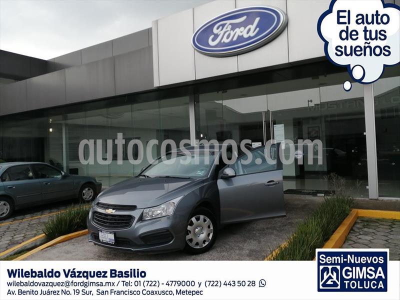 Chevrolet Cruze LS TA usado (2016) color Gris Oscuro precio $144,000