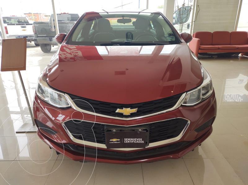 Foto Chevrolet Cruze LS Aut usado (2017) color Rojo precio $250,000