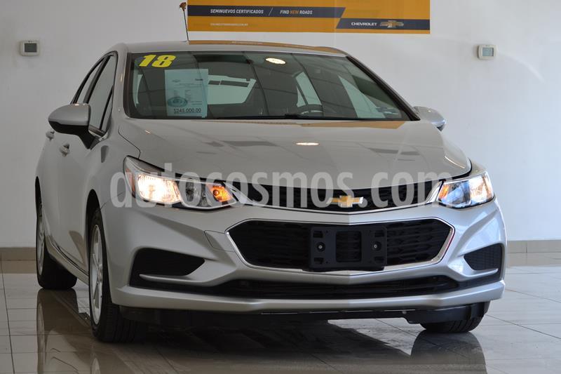 Chevrolet Cruze LS  usado (2018) color Plata Brillante precio $245,000