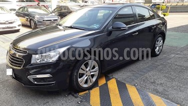 Chevrolet Cruze 4P LT TURBO TM5 BL QC RA-17 usado (2016) color Negro precio $204,000