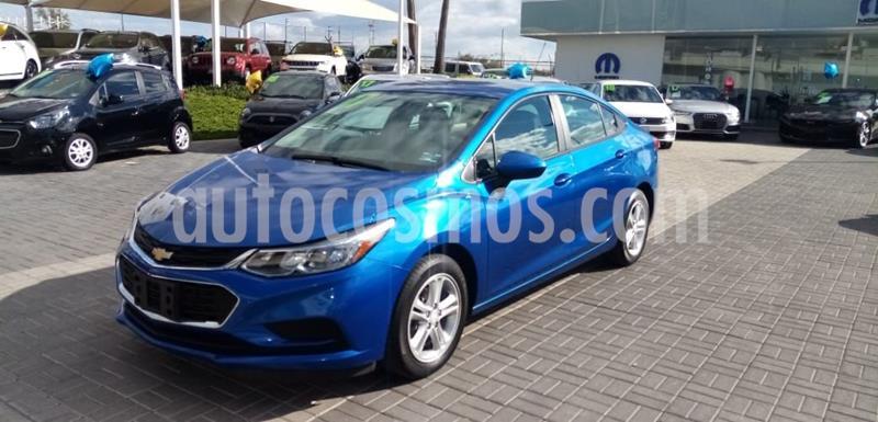 Chevrolet Cruze LT Aut usado (2017) color Azul precio $210,000