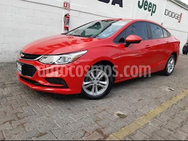 Chevrolet Cruze 4P LS L4/1.4/T AUT usado (2017) color Rojo precio $219,999