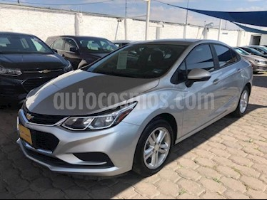 Chevrolet Cruze 4P LS TURBO AT BA RA-16 usado (2018) color Plata precio $265,000
