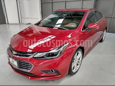 Chevrolet Cruze 4P PREMIER L4/1.4/T AUT usado (2018) color Rojo precio $330,000