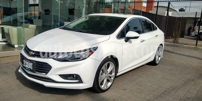 Chevrolet Cruze Premier Aut usado (2017) color Blanco precio $240,000