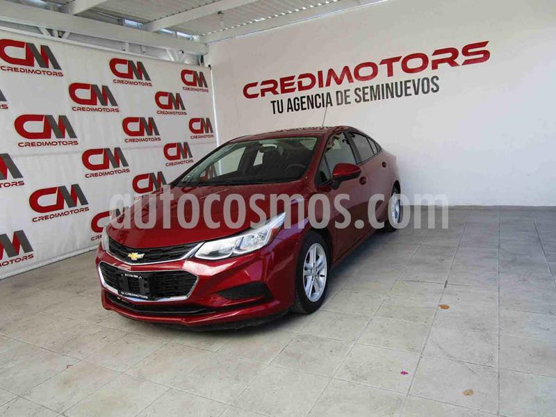 Chevrolet Cruze LS  usado (2017) color Vino Tinto precio $195,000