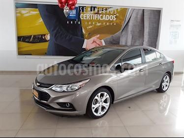 Chevrolet Cruze Premier Aut usado (2018) color Gris precio $269,900