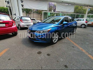 Chevrolet Cruze 4 pts. LT Turbo J MT usado (2016) color Azul precio $189,000