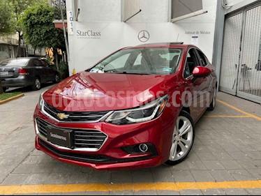 Chevrolet Cruze 4p Premier L4/1.4/T Aut usado (2017) color Rojo precio $255,000