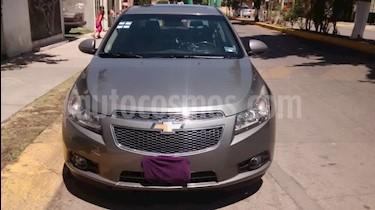 Chevrolet Cruze LT Piel Aut usado (2012) color Gris Acero precio $121,000