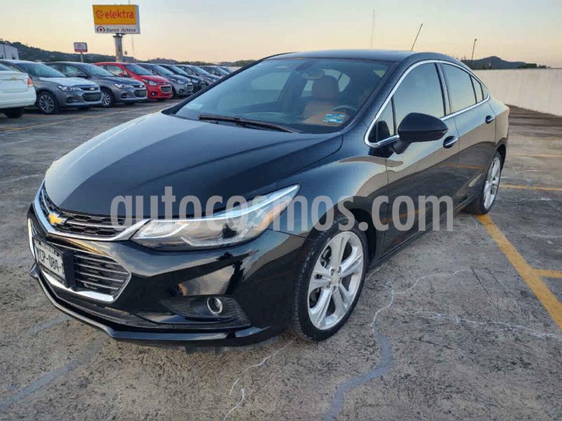Chevrolet Cruze Premier Aut usado (2018) color Negro precio $266,499