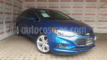 Foto venta Auto usado Chevrolet Cruze Premier Aut (2017) color Azul precio $255,000