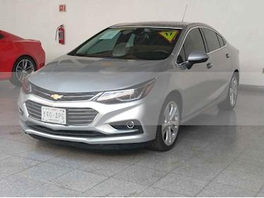 Foto venta Auto usado Chevrolet Cruze Premier Aut (2017) color Plata precio $299,000