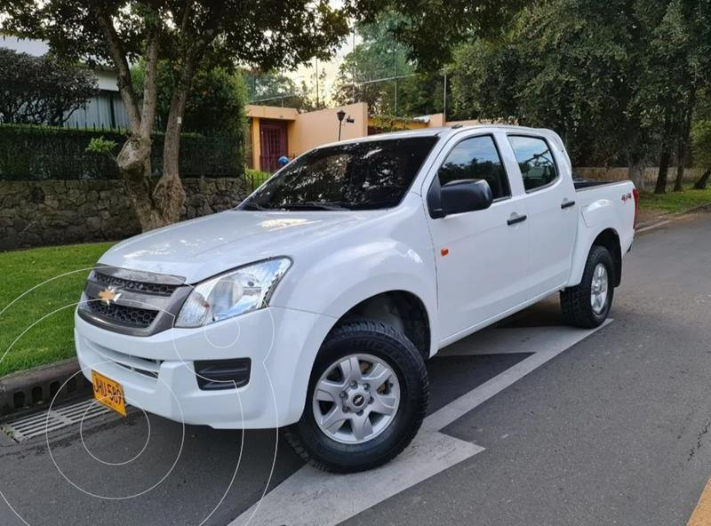 Chevrolet D-MAX 2.5L 4x4 CD Full usado (2018) color Blanco precio $88.900.000