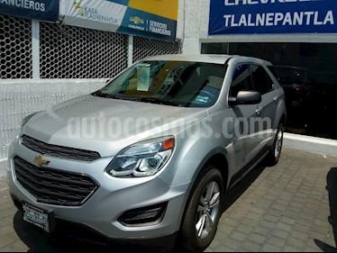 Foto venta Auto usado Chevrolet Equinox 5p LS L4/2.4 Aut (2016) color Plata precio $252,900