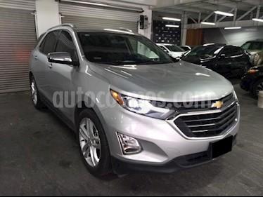 Foto venta Auto usado Chevrolet Equinox 5p Premier L4/1.5/T Aut (2018) color Plata precio $385,000
