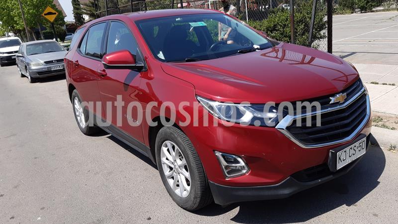Chevrolet Equinox 1.5L LS Aut  usado (2018) color Rojo Obscuro precio $14.300.000