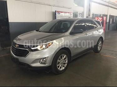 Foto venta Auto usado Chevrolet Equinox LS Paq. A (2018) color Plata precio $380,000