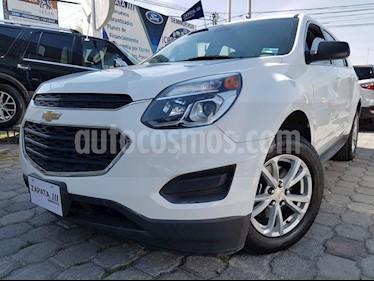 Foto venta Auto usado Chevrolet Equinox LS Paq. A (2017) color Blanco precio $299,000