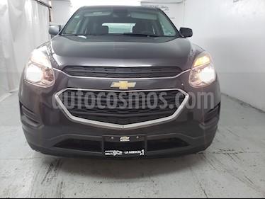 Foto venta Auto usado Chevrolet Equinox LS (2016) color Gris Carbono precio $250,000