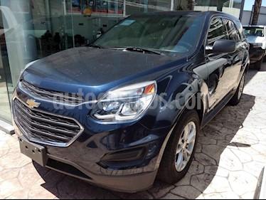 Foto venta Auto usado Chevrolet Equinox LS (2017) color Azul precio $260,000