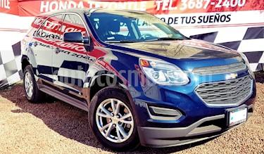 Foto venta Auto usado Chevrolet Equinox LS (2017) color Azul precio $285,000