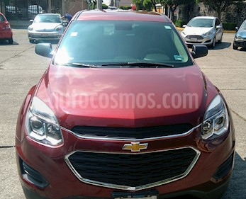 Chevrolet Equinox LS usado (2016) color Rojo Cerezo precio $237,000