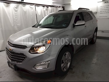 Foto venta Auto usado Chevrolet Equinox LT Paq. B (2016) color Plata precio $257,000