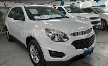Foto venta Auto usado Chevrolet Equinox LT (2016) color Blanco precio $239,000
