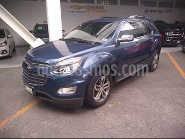 Foto venta Auto usado Chevrolet Equinox LTZ (2016) color Azul precio $289,000