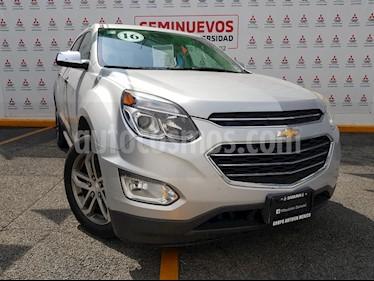 Chevrolet Equinox LTZ usado (2016) color Plata precio $280,000
