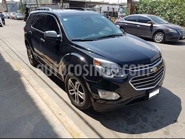 Chevrolet Equinox LTZ usado (2016) color Negro precio $260,000
