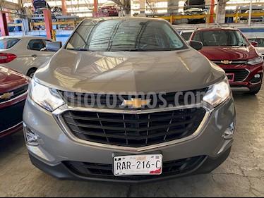 Chevrolet Equinox LS Paq. A usado (2018) color Gris Oscuro precio $279,100
