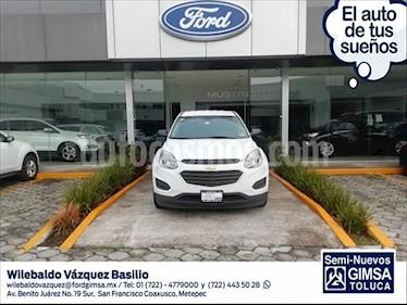 Chevrolet Equinox 5P LS L4/2.4 AUT usado (2017) color Blanco precio $254,000