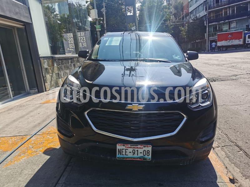 Chevrolet Equinox LS usado (2017) color Negro precio $279,100