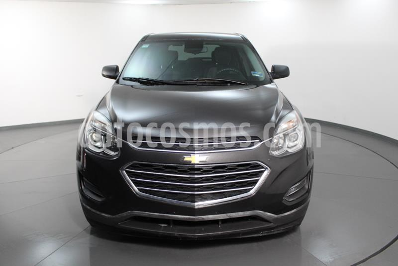 Chevrolet Equinox LT usado (2016) color Gris Carbono precio $215,000