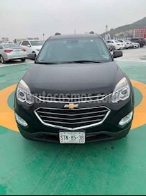 Chevrolet Equinox 4p LTZ L4/2.4 Aut usado (2016) color Negro precio $220,000