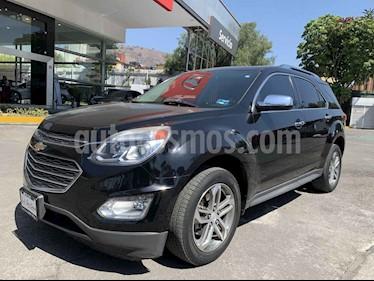 Chevrolet Equinox 4p LTZ L4/2.4 Aut usado (2016) color Negro precio $255,000