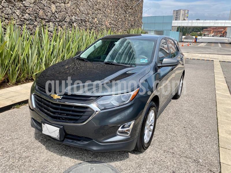 Chevrolet Equinox LS Paq. A usado (2018) color Gris Oscuro precio $290,000